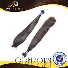 panic buying Double drawn Vietnam virgin malaysian hair weft hair