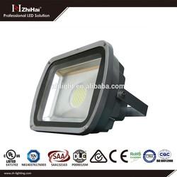 Zhihai Osram 12VDC 50w Led Spot Light 30w 70w LED Outdoor Flood light (TUV,CE,ISO9000,RoHS,5Year Warranty)