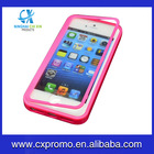 TPU+PC Case Cover for Apple iPhone 5 with 1 Clear Screen Protector