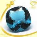 almofada corte gemas de alta qualidade preços de vidro rough aquamarine