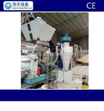 CE ring die wood pellet mill/wood pellet machine with automatic lubrication