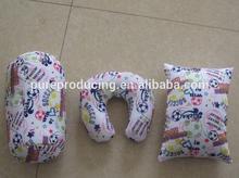 Printed cylindrical beads cushion