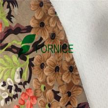 China manufacturer 2014 new polyester corduroy/velvet fabric