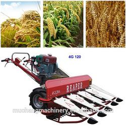 Diesel engine wheat cutting machine