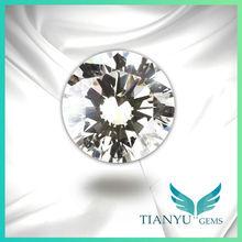 9.0mm A CZ Diamond Stone White Big Round Zircon