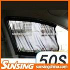 Black fashionable auto sunshade car window curtain