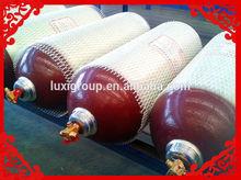 120L Type 2 fiberglass car cng cylinder