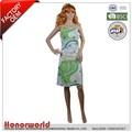 Mulheres casual vestido de uma peça em estampa floral/tanque vestido com uma flora repletas de impressão/designer vestido de uma peça