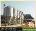 L'alimentation des poulets en plastique silo à vendre