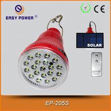 EASY POWER Solar Charge Remote Control Emergency Light LED 12v led solar bulb