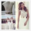 Julie Vino 2014 Bridal Sexy Cap Sleeve Jeweled Wedding gown JV9 Julie Vino Wedding Dresses