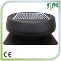 nuevos productos de energía solar 2014 35 vatios de paneles solares alimentado por energía solar auto fresco del ventilador de ventilación de aire