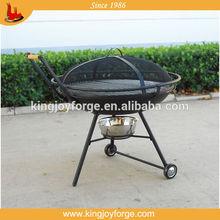 outdoor fireplace /garden steel firepit