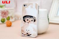 Japanese sex cartoon 3d animal phone case for iphone 4