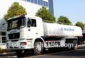 Shaanxi 290hp d'longo f2000 combustível/caminhão tanque de água