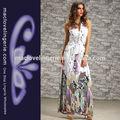 2014 senhoras designer de moda online vestido longo padrão maxi vestidos
