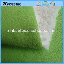 100D/144F polar fleece +TPU film + shu velveteen/sherpa fabric, polar fleece fabric