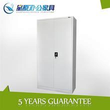 Luoyang Factory light grey 2 swing door metal 5 tier design storage steel cupboard