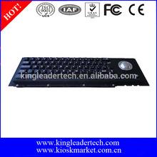 Black metal Mechanical Keyboard with Cherry key switch
