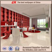 Red designer wallpaper home decoration interior wallpaper 3d wall price