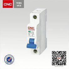 Popular YCB5-63 mcb mccb circuit breaker rccb earth leakage