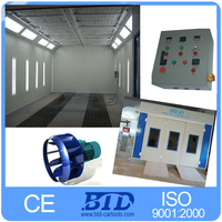 European design used auto paint booth for sale/oven for car paint/ spray paint bake oven