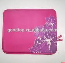 anti-shock and waterproof neoprene laptop sleeve