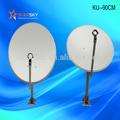 90cm banda ku de alumínio de antena parabólica