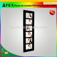 APEX Black Design Six Pictures Photo Frames