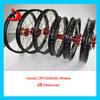 "CRF 450 Dirt Bike / Pit Bike 17"" 18"" 19"" 21"" Aluminum Alloy Rim Wheels"