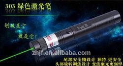 2014 OEM hot sale!!! 532nm adjustable burning green laser pointer dot 200mW