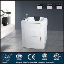 HS-B1101 small sitting bath tubs,walk in shower tub combo,bathtub for disabled