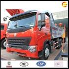 6x4 front lifting dirt tipper Sinotruk howo brand dump truck tipper lorry