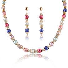 2014 wedding jewellery design wholesale african costume african beads jewelry set