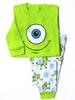 2015 fashion new long sleeve baby 100% cotton minion pajamas, boys sleepwear pyjamas