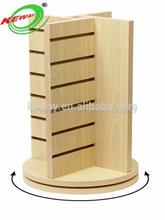Round Gondola Wood Shelves for Shops