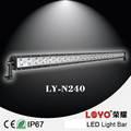 """La fábrica de china 240w barra de luz led!!! 41"""" 16000lm 240w led de conducción de luz de trabajo bares para off road 4x4 accesorio 4wd camiones y suv, utv"""