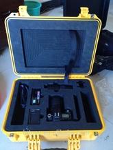 Various colors shockproof hard plastic gun pistol case(TC-3011)