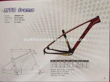 Light 26/29inch 700c carbon fiber mtb mountain/road bike frame