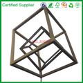 Pendurado caixa de madeira, madeira decorativa cubo para loja de varejo de exibição( m- 10266)