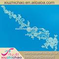 X0870 ( 2.1 ) fabricante decoração osso cordão bordado de alta qualidade veneza laço do casamento