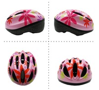 Beautiful children helmet/dot pattern kids bike helmet