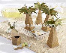 Palm Tree design Wedding gift box