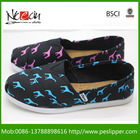 2014 Wholesale Fashion Canvas Casual Shoes Cheap Injection Shoes
