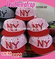 Nuovo stile e popolare custom bordo piatto NY embroiery snapback/berretti e cappelli snapback
