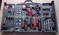 Cf-ht1602 160 pcs profissional ferramentasmanuais conjunto em molde de sopro caso