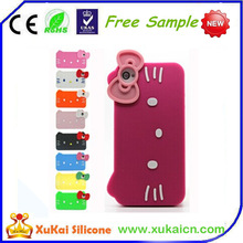 Beautiful design mobile phone bumper silicone case