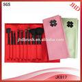 9 قطعة تعيين فرشاة التجميل المصنع/ مصنع أدوات فرشاة التجميل