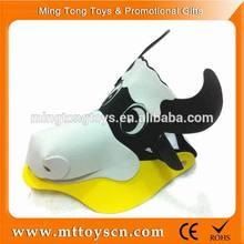 EVA foam toy fashion kids cow cartoon cap