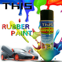 450ml/4L ISO Fast Dry Removable Rubber Paint